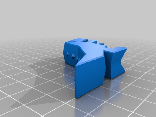 Robber Rex STL file, 3d object, 3d printing, 3d printed object