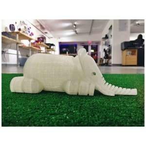 Elephant 3D Printing, 3D Printed object